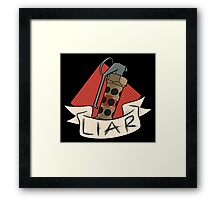 The 'Nade is a Lie Framed Print