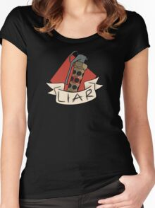 The 'Nade is a Lie Women's Fitted Scoop T-Shirt