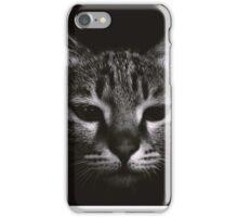 cat in dark iPhone Case/Skin