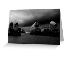 Accumulation - London Lights Greeting Card