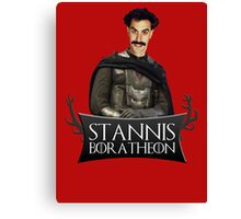 Stannis BORATheon Canvas Print