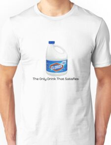 "Bleach ""The Only Drink That Satisfies"" Unisex T-Shirt"