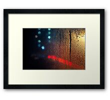 Time Passes - London Lights Framed Print