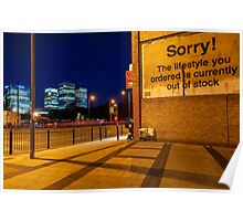 Attribution - London Lights Poster