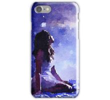 Heavenly.water color,hand paint,modern,beautiful,contemporary art iPhone Case/Skin