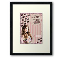 My Teenwolfed Valentine[You're My New Best Friend] Framed Print