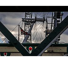 A View of The Eye - London Lights Photographic Print