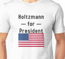 Holtzmann for President - inspired by Ghostbusters Unisex T-Shirt