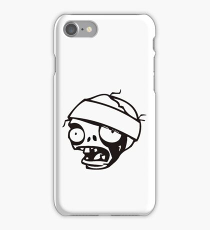 Zombie Cool Funny T-shirt  iPhone Case/Skin