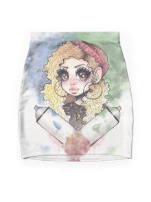 Graffiti Babe Mini Skirt