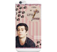 My Teenwolfed Valentine[I'll be Your Little Spoon] iPhone Case/Skin