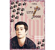 My Teenwolfed Valentine[I'll be Your Little Spoon] Photographic Print