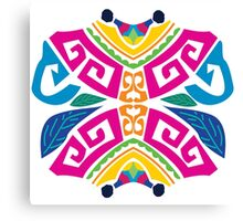 Caribbean tribal Canvas Print