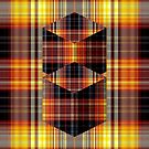 Plaid on Plaid by Dana Roper
