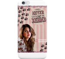My Teenwolfed Valentine[I'd Never Leave You Behind] iPhone Case/Skin