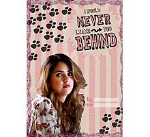 My Teenwolfed Valentine[I'd Never Leave You Behind] Photographic Print