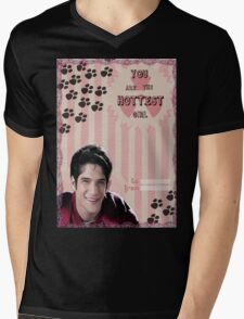 My Teenwolfed Valentine[You Are The Hottest Girl] Mens V-Neck T-Shirt