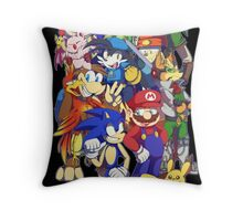 Video Game Fuel Throw Pillow