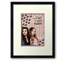 My Teenwolfed Valentine[New Best Friend] Framed Print