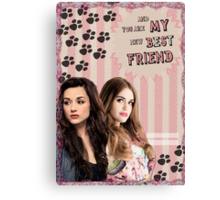 My Teenwolfed Valentine[New Best Friend] Canvas Print