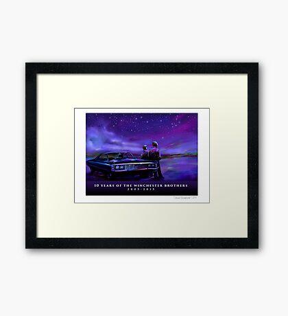 Impala Nights Framed Print