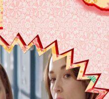 My Teenwolfed Valentine[New Best Friend] 2 Sticker
