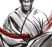 Samurai Large Poster Japanese Warrior Sticker