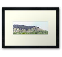 Unique Mountain - Panorama Framed Print
