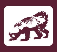 Honey Badger (white design) by jezkemp