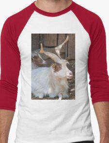 moose at the zoo Men's Baseball ¾ T-Shirt
