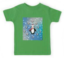 Many Penguins Kids Tee