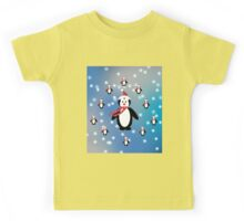 Many Penguins Kids Tee