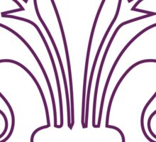 Fleur-de-lis Sticker