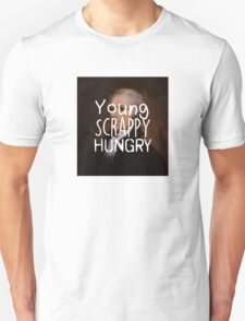 Young, Scrappy, Hungry - Alexander Hamilton portrait Unisex T-Shirt