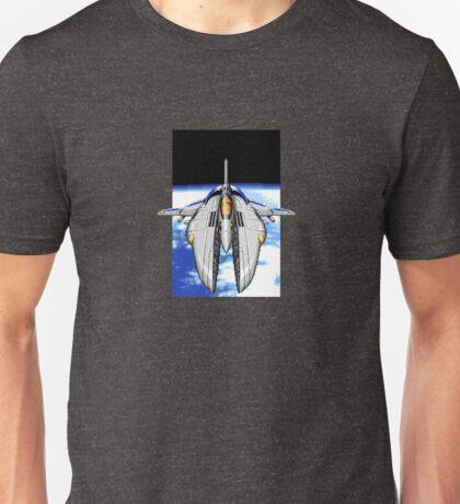 16-Bit Spacecraft Unisex T-Shirt