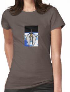 16-Bit Spacecraft Womens Fitted T-Shirt