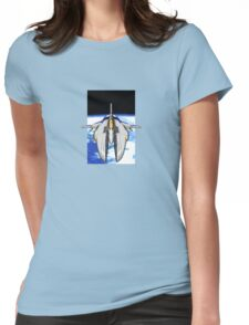 16-Bit Spacecraft Womens Fitted T-Shirt