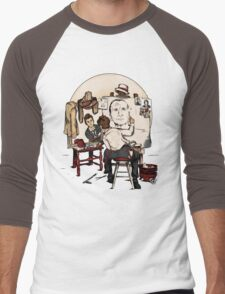 Doctor Rockwell Men's Baseball ¾ T-Shirt