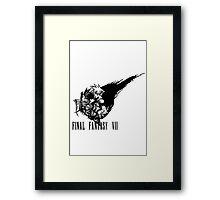 Final Fantasy VII logo 2 Framed Print