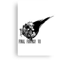 Final Fantasy VII logo 2 Canvas Print