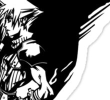 Final Fantasy VII logo 2 Sticker