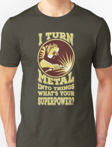 Welder T-shirt - Welder superpower Unisex T-Shirt