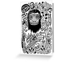 Idées noires Greeting Card