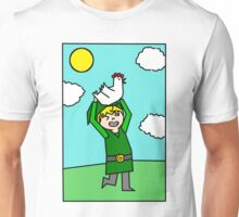 Chicken Terrorizing 101 Unisex T-Shirt