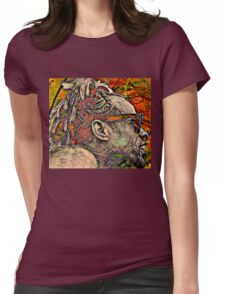 Psychedelic... What a Trip!! Womens Fitted T-Shirt