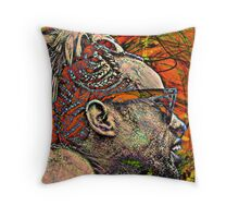 Psychedelic... What a Trip!! Throw Pillow