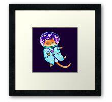 Cosmocat Framed Print