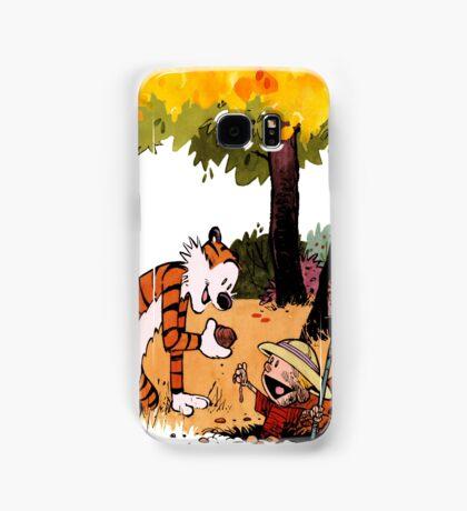 Calvin and Hobbes Treasure Hunter Samsung Galaxy Case/Skin