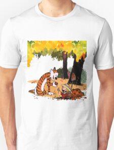 Calvin and Hobbes Treasure Hunter Unisex T-Shirt