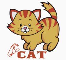 C is for Cat - ASL Baby Tee